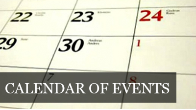Visit our Calendar of Events Page
